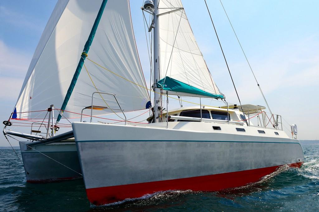 Catamaran Aluminium Banana-43